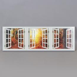 Арт-объект «Три окна в лес»