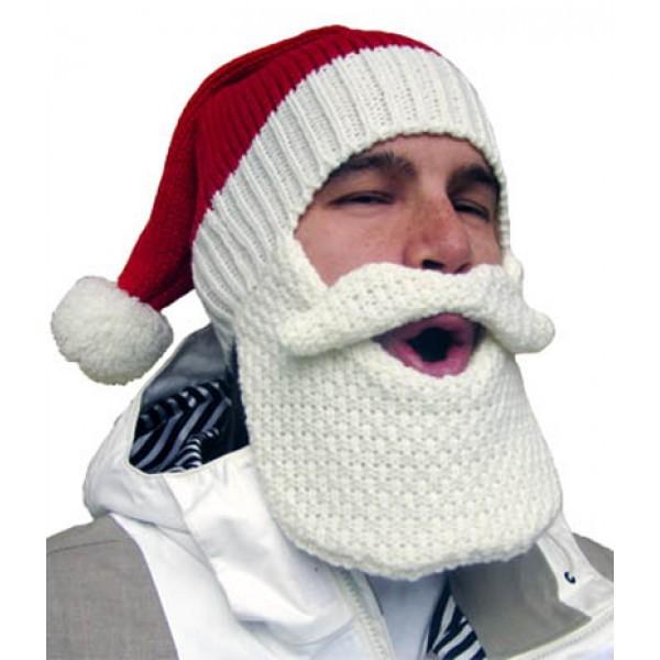 Шапка с бородой Santa