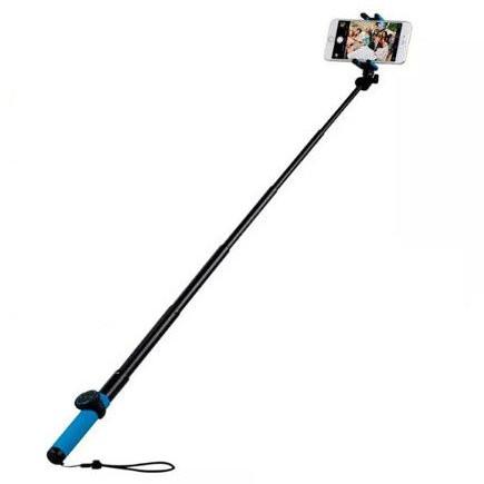 Селфи-монопод + штатив MOMAX Selfie Hero Pod 100cm KMS7 Blue