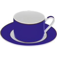 Синяя чайная пара Риом