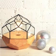 Светильник с ретро-лампочкой Эволюция