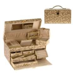 Набор из футляра для ювелирных изделий и шкатулки