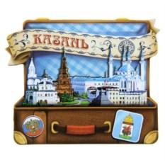 Магнит-чемодан Казань