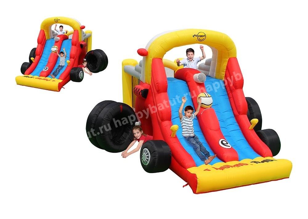 Детский надувной батут HAPPY HOP «Формула 1» 9026