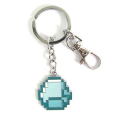 Брелок на ключи Minecraft Алмаз