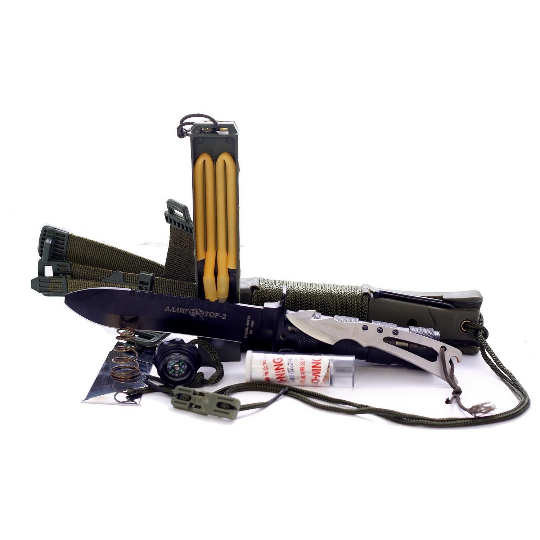Нож для выживания Аллигатор-2