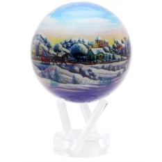 Глобус мобиле Рождественский шар, d 12 см