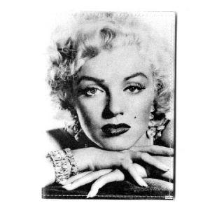 Обложка для паспорта Мерилин Монро, пластик
