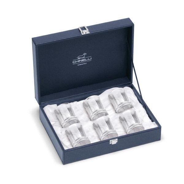 Набор рюмок 6 шт в подарочной упаковке Chinelli