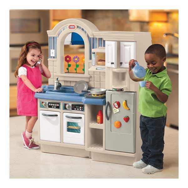 Детская кухня little tikes 450b литл тайкс кухня/барбекю 2 в1 интерьер барбекю
