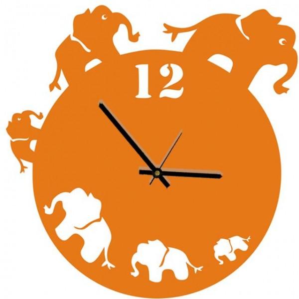 Настенные часы Слоники