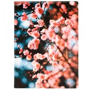 Обложка для паспорта Sakura flowers