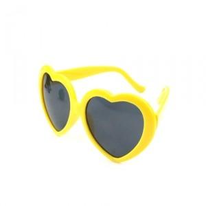 Очки Heart, желтые