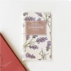 Недатированный планинг La Vie en Rose Lavender