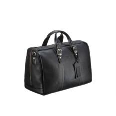 Дорожная черная сумка малого размера Brialdi Houston