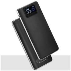 Внешний аккумулятор с дисплеем и фонариком High tech