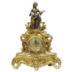 Каминные часы Дама с лютней