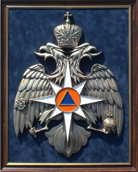 Плакетка Герб МЧС (большой)