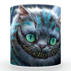 Кружка с 3D печатью Чеширский кот