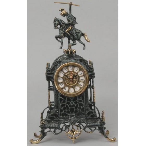 Часы каминные бронзовые Всадник