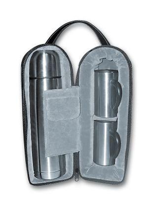 Набор S.Quire: термос с двумя кружками, в чехле