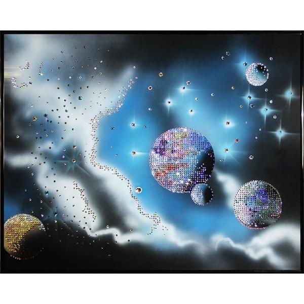 Картина Swarovski Космическая феерия