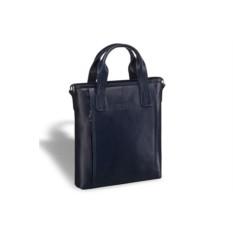 Деловая синяя сумка Brialdi Formia
