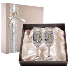 Набор свадебных бокалов №53 в подарочной коробке