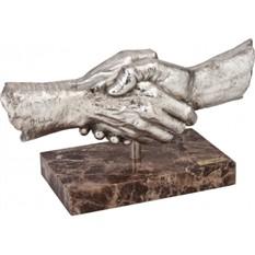Скульптура Сотрудничество, посеребрение