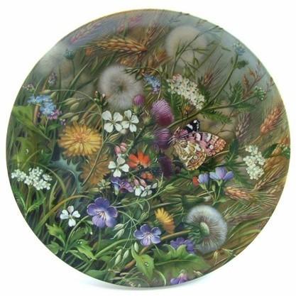 Коллекционная тарелка «На заливном лугу»