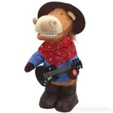 Поющая игрушка Конь ковбой