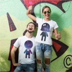 Парные футболки Просто Космос