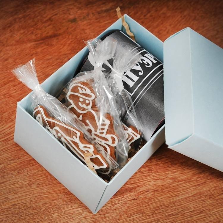 Подарочный набор Баррель с печеньем