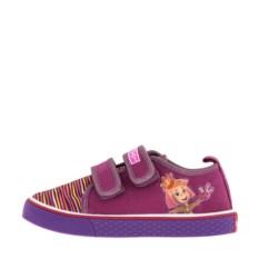 Весенние фиолетовые кеды для девочки Fixiki