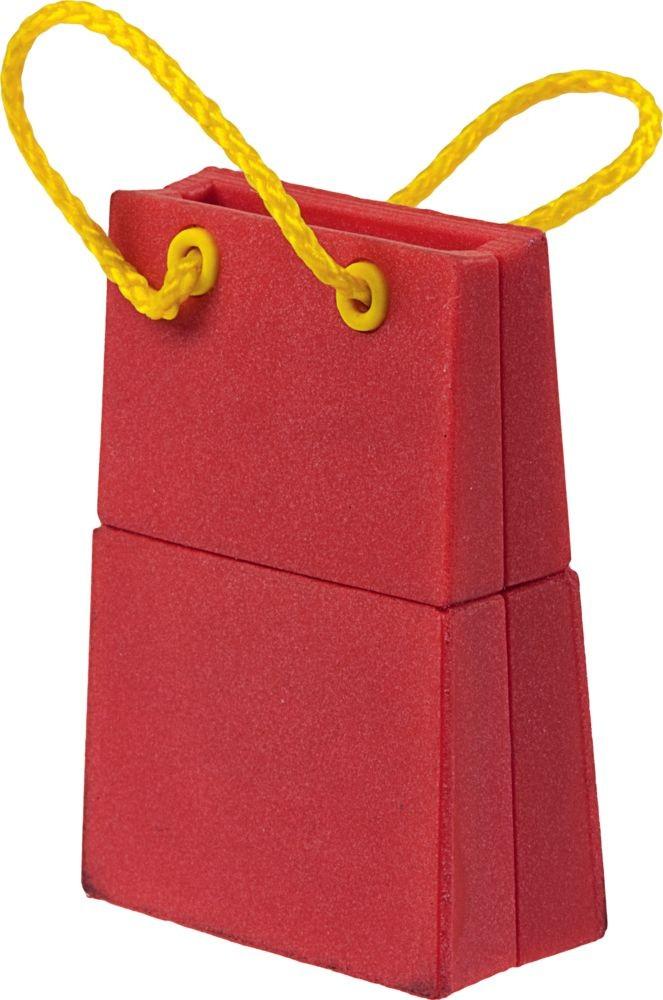 Флешка 'Пакет', красный, 8 Гб
