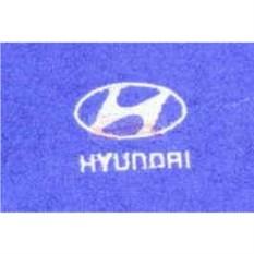 Махровое полотенце с логотипом Hyundai
