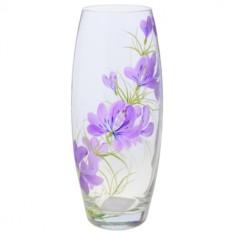 Стеклянная ваза Весна