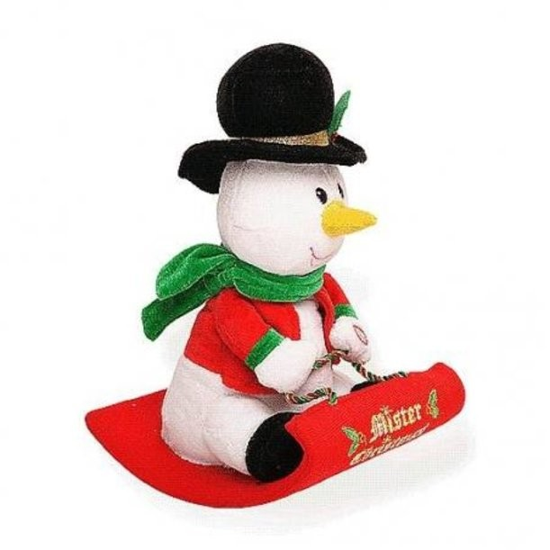 Электромеханическая игрушка Снеговик
