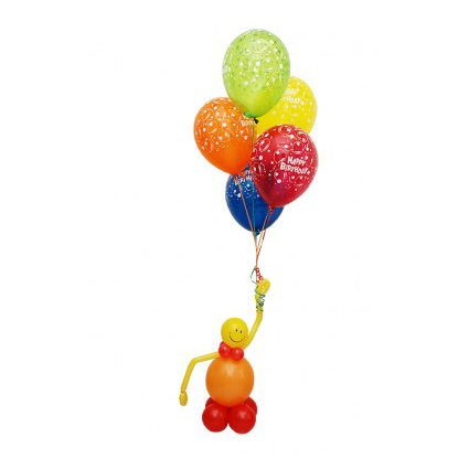 Связка шаров «С днем рождения»