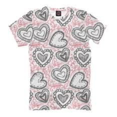 Мужская футболка Влюбленность