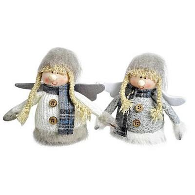 Елочная игрушка Девочка-ангел
