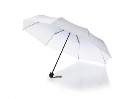Фиолетовый складной механический зонт Shirley