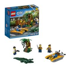 Конструктор Lego City Джунгли для начинающих