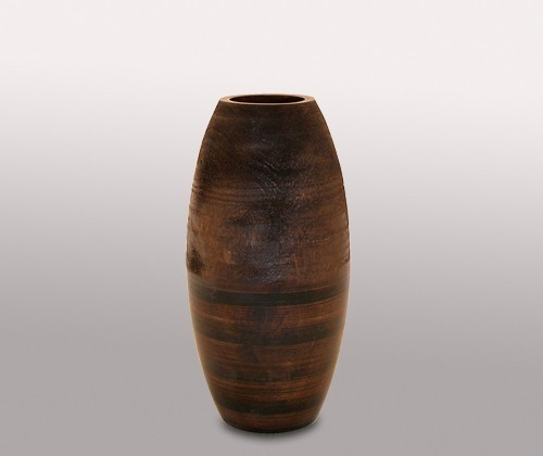 Декоративная ваза, коричневая