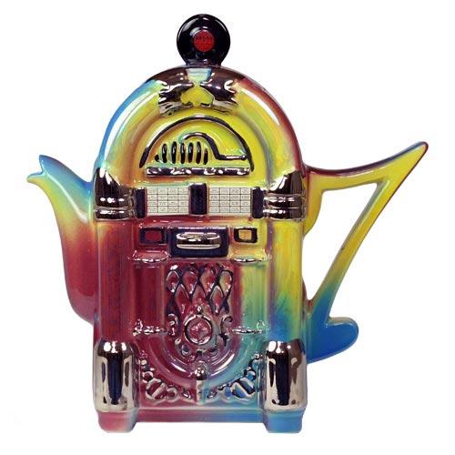 Фарфоровый чайник «Музыкальный аппарат»