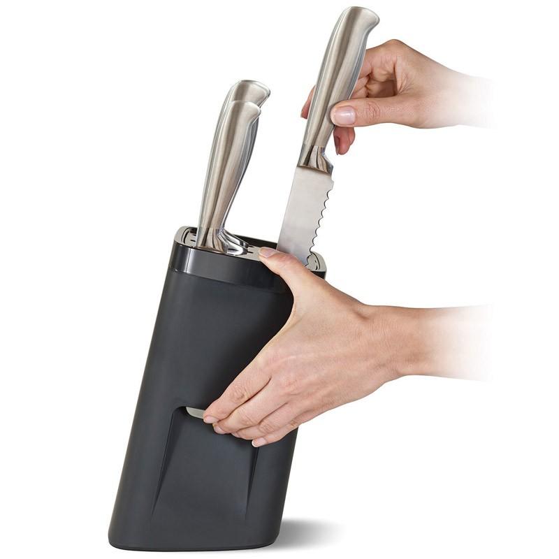 Ультрабезопасная подставка для ножей LockBlock