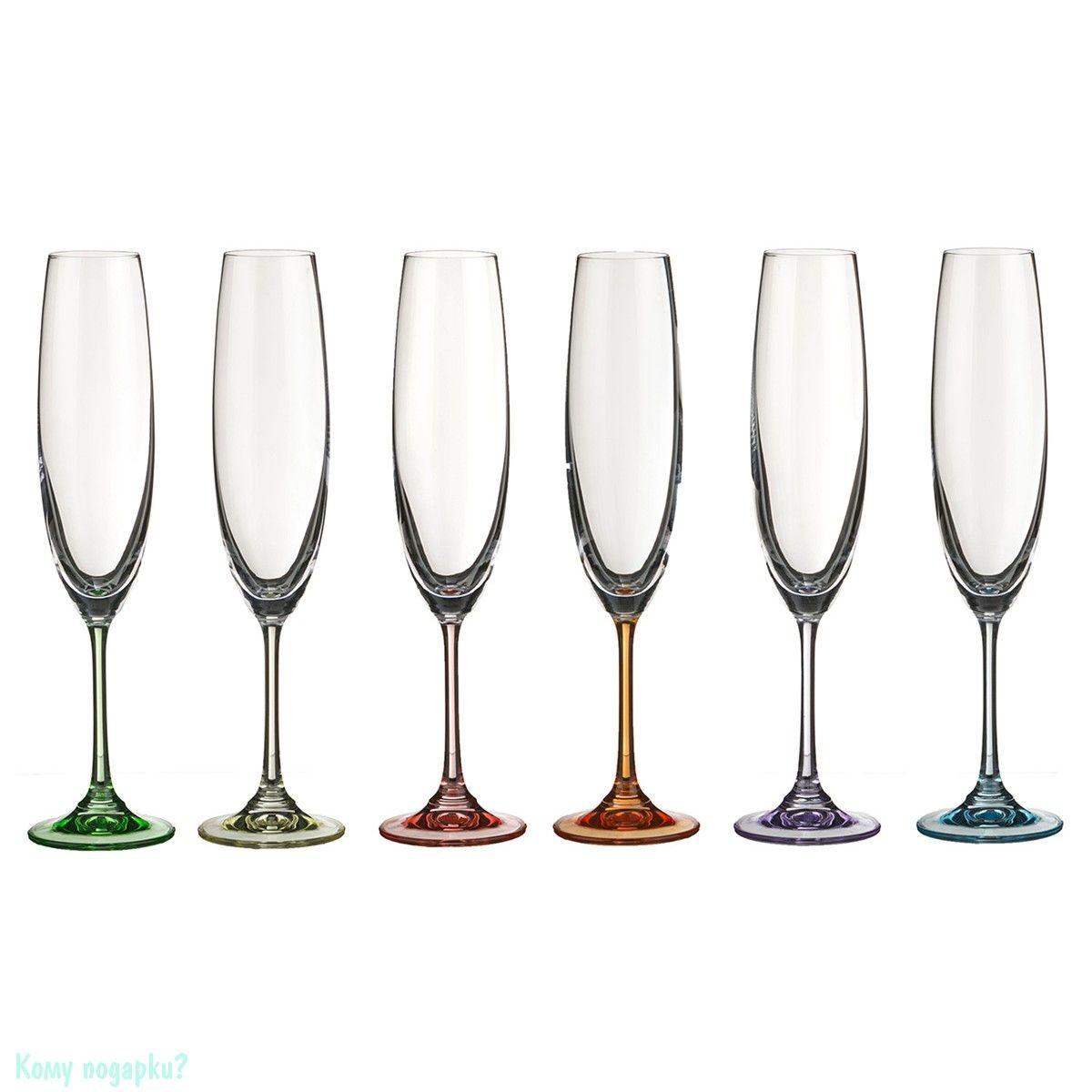 Бокалы для шампанского «Барбара декорейшн»