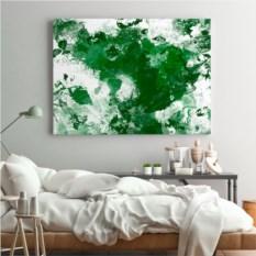 Набор для создания картины Love as art (green)