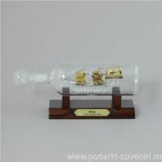 Корабль в бутылке Нина
