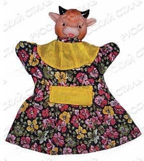Кукла-перчатка Коровка
